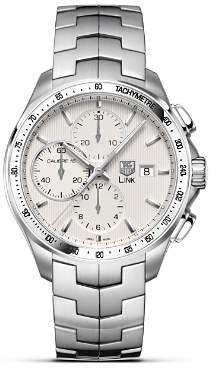 "Tag Heuer Link"" Automatic Chronograph Watch, 43mm"