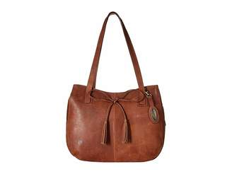 Børn Santa Clara Distressed Leather Handbags