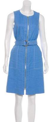 Diane von Furstenberg Zip-Up Knee-Length Dress