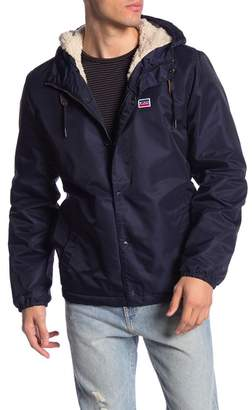 Levi's Faux Fur Water Resistant Hooded Jacket
