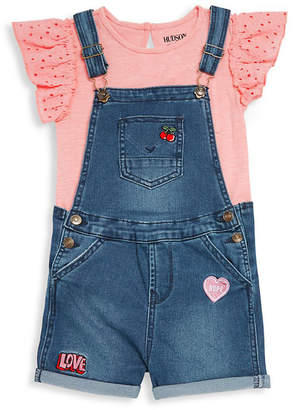153f1d593 Hudson Jeans 2Pc Top And Denim Shortall Set