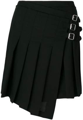 McQ pleated wrap skirt