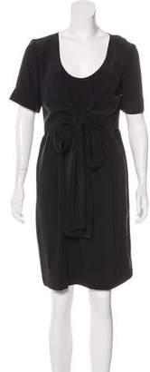Stella McCartney Silk Draped Dress