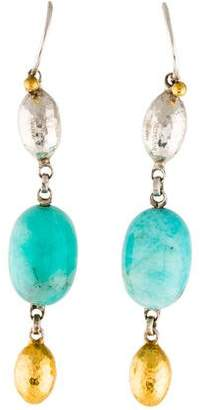 Gurhan Amazonite Drop Earrings