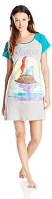 Disney Women's Ariel Dorm Shirt $25.50 thestylecure.com