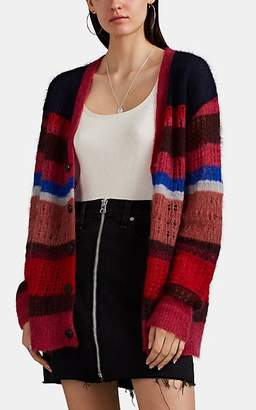 Rag & Bone Women's Nassau Striped Mohair-Silk Cardigan