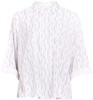 PAISIE - Oversized Shirt In Monochrome Print