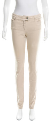 Balenciaga Balenciaga Mid-Rise Skinny Jeans