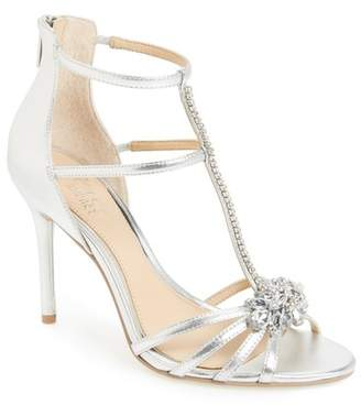 99c96825c28 ... Badgley Mischka Hazel Embellished T-Strap Sandal (Women)