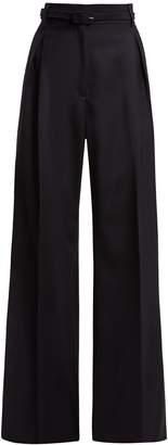 GABRIELA HEARST Dora wide-leg wool trousers