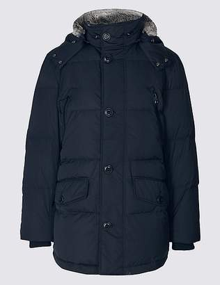 """Marks and Spencer Down & Feather Parka with Stormwearâ""""¢"""
