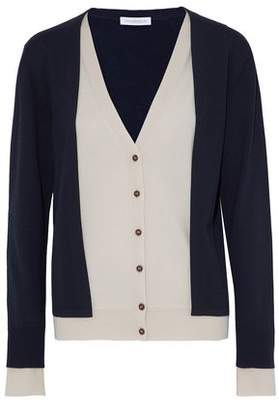 J.W.Anderson Layered Two-Tone Merino Wool Cardigan