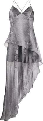 Amiri printed python dress