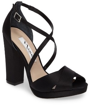 Women's Nina Marylyn Cross Strap Sandal $88.95 thestylecure.com