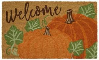 Mohawk Home Pumpkin Pair ''Welcome'' Coir Doormat - 18'' x 30''