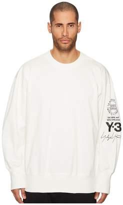 Yohji Yamamoto Graphic Crew Sweater Men's Sweater