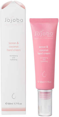 The Jojoba Company Lemon and Coconut Hand Cream 50ml