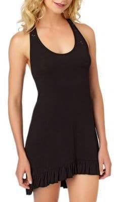 Betsey Johnson Lace Racerback Dress