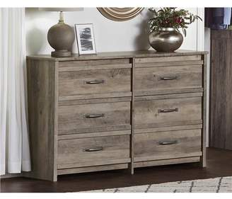 Better Homes & Gardens Emory 6 Drawer Dresser, Gray Oak