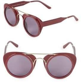 47MM Aviator Sunglasses