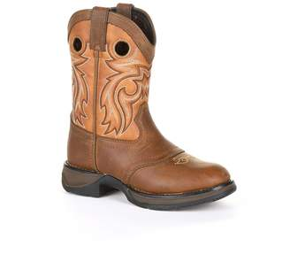 Durango Lil Rebel by Brown Saddle Kids Western Boots