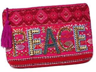 Ale By Alessandra 'ale by alessandra Women's Peace Of Cake Hand Embroidered Beaded Clutch