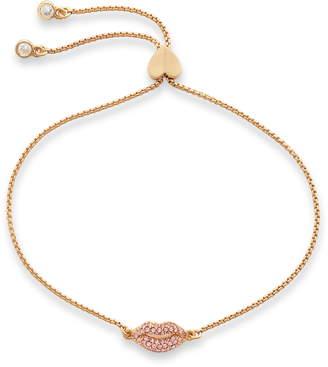 Kate Spade Pave Lip Slider Bracelet