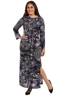 24/7 Comfort Apparel Maximum Effect Plus Size Maxi Dress