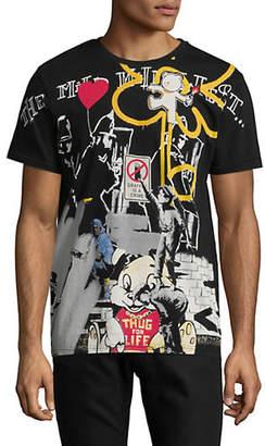 Eleven Paris Graphic Cotton T-Shirt