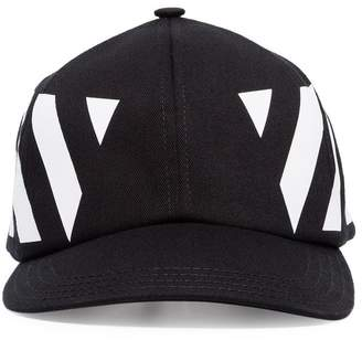 13346710da5 Off-White black and white Striped Baseball Cap