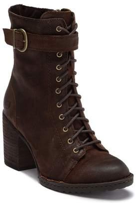 Børn Cass Suede Block Heel Boot (Women)