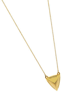 House Of Harlow Pyramid Pendant Necklace