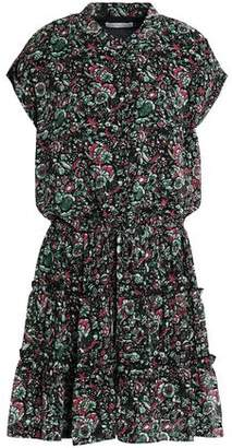 Rebecca Minkoff Floral-Print Crepe Mini Dress