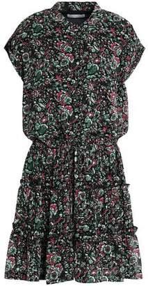 Rebecca Minkoff Floral-Print Crepe Mini Dress