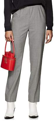 Maison Margiela Women's Mini-Houndstooth-Weave Wool Pants