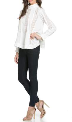 MHGS Modern Victorian Blouse $79 thestylecure.com