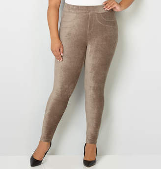 Avenue Rib Velour Legging