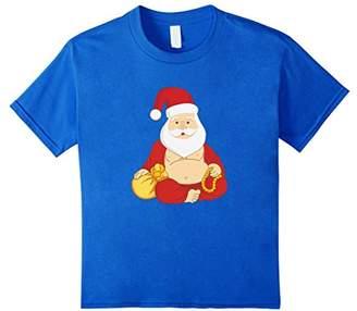 Buddhist Santa T-Shirt - Funny Santa Claus Christmas Tee