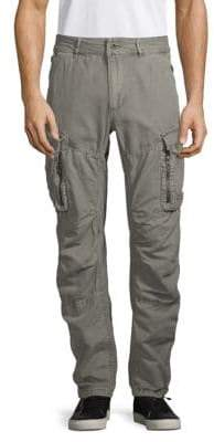 Jet Lag Urban 3D-Cut Cotton Cargo Pants