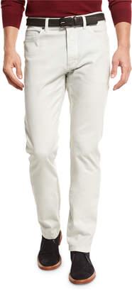 Ermenegildo Zegna ZW Five-Pocket Pants, Stone