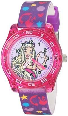 Barbie Girls' Analog-Quartz Watch with Rubber Strap