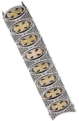 Konstantino Diamond Cross Link Bracelet