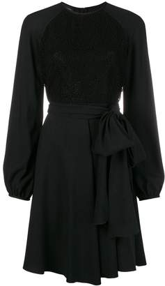 Giambattista Valli flowy mini dress
