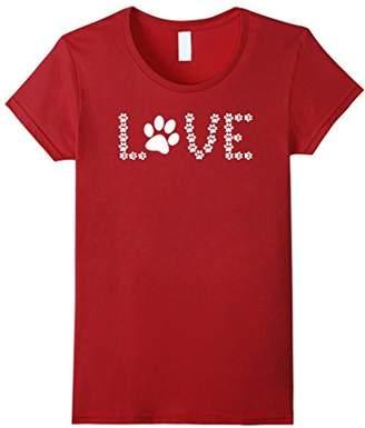 Animal Lover Dog Paw Print - My Best Friend Women T Shirt