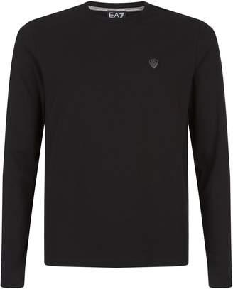 Giorgio Armani Ea7 Long Sleeve Logo T-Shirt