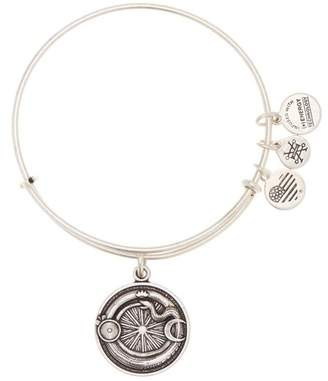Alex and Ani Ouroboros Pendant Adjustable Bracelet