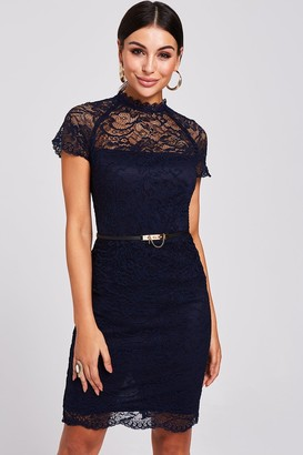 Paper Dolls Avon Navy Lace Dress