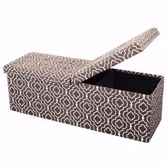 Otto & Ben 45 Inch SMART LIFT TOP Ottoman Bench (Patterns), Multiple Colors