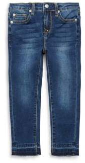 7 For All Mankind Little Girl's Ankle Jeans