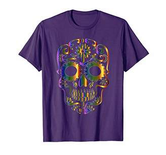 DAY Birger et Mikkelsen Colorful Sugar Skull T-Shirt for Mexican Of The Dead